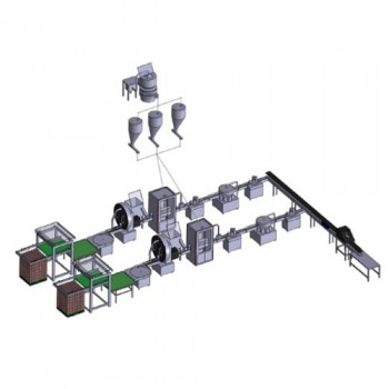 Automatic Canned Australia Milk Powder Filling Production Line Price for sale