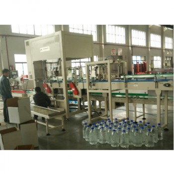 Automatic Top-loading Case Packer for Bottling Oil and Beer for sale