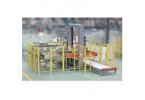 Automatic  Mechanical Palletizing Machine For Paper Carton and Shrink Pack