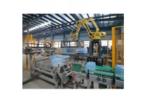 Automatic  Robotic Palletizer For Bottling Water and Beverage