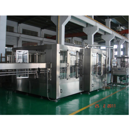 Automatic 500ml Bottling Water Filling Line With Capacity 8000-24000BPH Manufacturer
