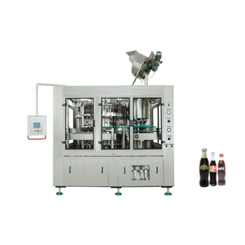 Automatic Carbonated Drinks Cola Filling Machine For Glass Bottles China Supplier
