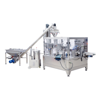 Automatic Premade Doypack Pouch Powder Filling Machine in UK